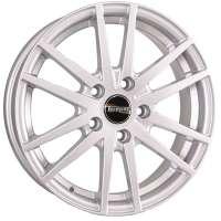 Tech Line 635 6.5x16/5x105 ET39 D56.6 Silver