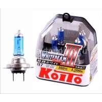 Галогеновая автолампа KOITO H7 WhiteBeam III, 4200K, 55W (P0755W)