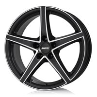 Alutec Raptr 8x18/5x112 ET45 D70.1 Racing black front polished