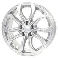 Alutec W10 8x18/5x120 ET53 D65.1 Polar Silver