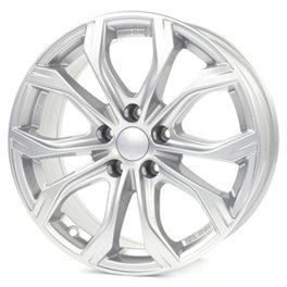 Alutec W10 8x18/5x127 ET53 D71.6 Polar Silver