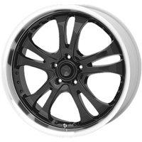 American Racing AR393 8.5x20/5x114.3 ET35 D72.62 Black/Machined
