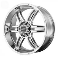 American Racing AR890 8x17/5x127 ET0 D78.1 Chrome