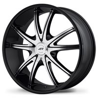 American Racing AR897 8x18/5x114.3 ET38 D72.62 Black/Machined