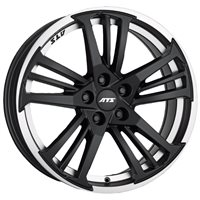 ATS Prazision 8.5x18/5x112 ET45 D70.1 Racing Black Double lip polished
