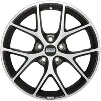 BBS SR 8x18/5x114.3 ET50 D82 Vulcano grey diamond cut