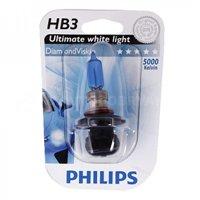 Галогеновая автолампа PHILIPS HB3, 5000K, 65W (9005DVB1)
