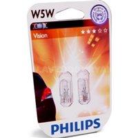 Галогеновая автолампа PHILIPS W5W (12961B2)