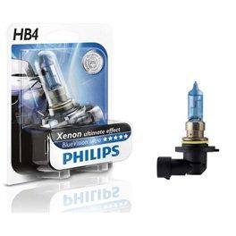 Галогеновая автолампа PHILIPS HB4, 4000K, 55W (9006BVB1)