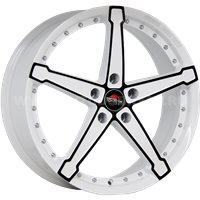 YOKATTA MODEL-10 6.5x16/4x98 ET38 D58.6 w+b