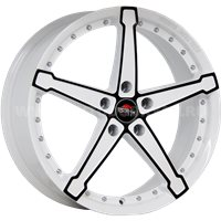 YOKATTA MODEL-10 8x18/5x105 ET42 D56.6 w+b