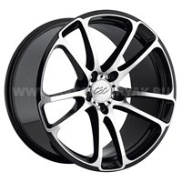 CEC C 882 10x20/5x114.3 ET43 D75 Black/Machined