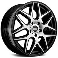 Fondmetal STC-MS 8.5x20/5x114.3 ET35 D75 Matt Black + Diamond Cut