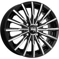K&K Акцент 7x17/5x108 ET50 D63.35 алмаз черный