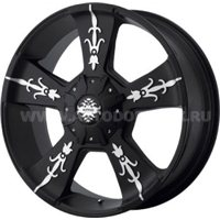KMC KM668 9x24/6x135 ET30 D100,5 Black/Machined