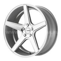 KMC KM685 8.5x20/5x120 ET35 D74.1 Silver/Machined