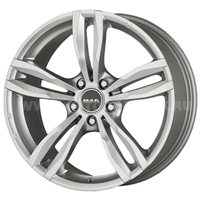 MAK Luft 8x18/5x120 ET30 D72.6 Silver
