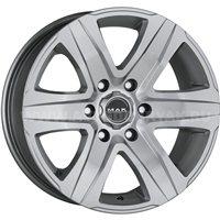 MAK Stone6 T 8.5x18/6x114.3 ET30 D66.1 Silver