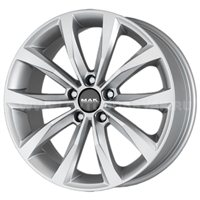 MAK Wolf 7.5x17/5x112 ET54 D66.6 Silver
