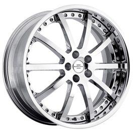 Redbourne Viceroy 9.5x20/5x120 ET32 D72 Silver