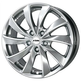 Rial Lugano 6.5x16/4x114.3 ET40 D70.1 Sterling Silver