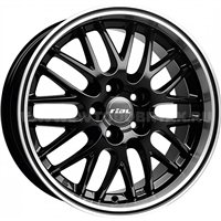 Rial Norano 8.5x18/5x112 ET32 D70.1 Diamant black lip polished