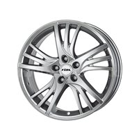 Rial Padua 7.5x16/5x114.3 ET38 D70.1 Sterling Silver