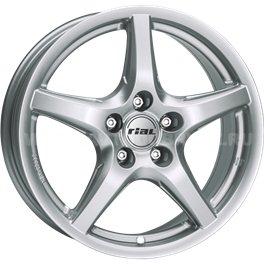 Rial U1 6x15/5x114.3 ET45 D70.1 Polar Silver