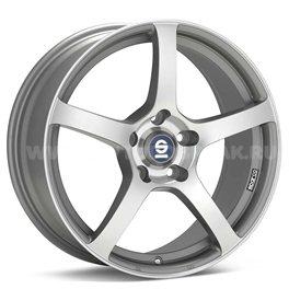 Sparco RTT524 8x18/5x100 ET48 D63.3 Matt Silver Tech