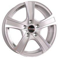 Tech Line 539 6x15/4x100 ET50 D60.1 Silver