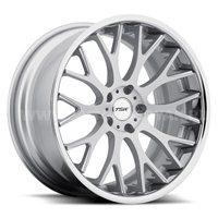 TSW Amaroo 8.5x18/5x120 ET35 D76 Silver Mirror Cut Face
