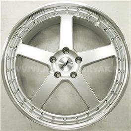 TSW Carthage 8x17/5x114.3 ET40 D76 Silver