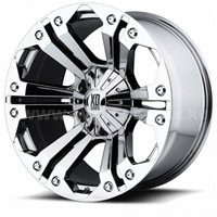 XD Series XD778 10x24/8x165 ET25 D125 Chrome