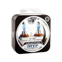 Комплект галогеновых автоламп MTF ARGENTUM +80% H10, 42W (H8A1210)