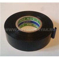 Изолента DENKA Vini-Tape 232, черная 0,1мм х 19мм х 25м