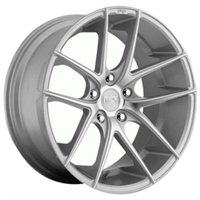MHT Niche Targa 9.5x19/5x130 ET45 D71.5 Silver/Machined