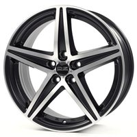 OZ Energy 8x19/5x114.3 ET45 D75 Matt Black + Diamond Cut
