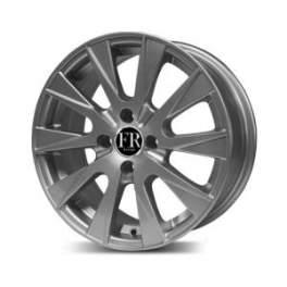 FR design 249/01 6.5x15/4x100 ET40 D54.1 Silver