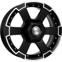 K&K М56 7x16/6x139.7 ET38 D92.5 Алмаз черный