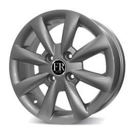 FR replica GM059 5.5x14/4x100 ET45 D56.6 Silver