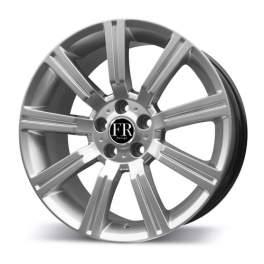 FR replica LR156 9.5x20/5x120 ET53 D72.6 Silver