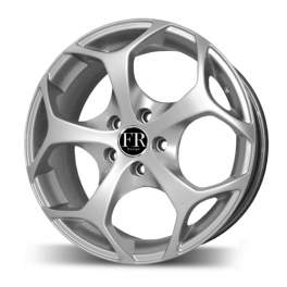 FR replica FD619 7x17/5x108 ET50 D63.4 Silver