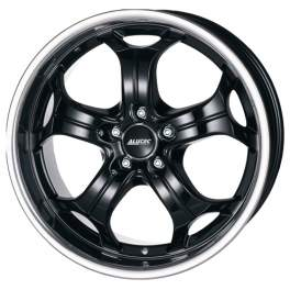 Alutec Boost 10.5x20/5x120 ET35 D72.6 Diamant black with stainless steel lip