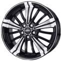 Alutec Ecstasy 8x18/5x114.3 ET35 D70.1 Diamant Black Polished