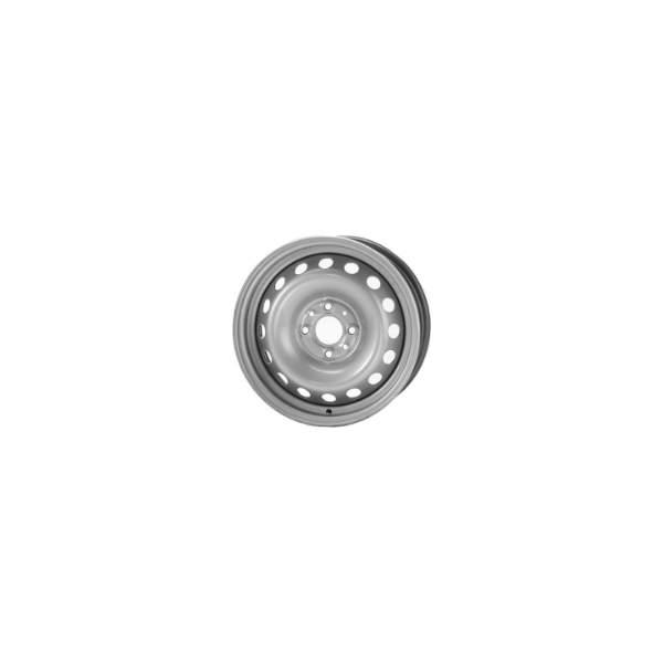 Штампованный диск Trebl 7710 6x15/5x105 D56.6 ET39 Black - фото 10