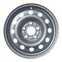 Штампованный диск Trebl 7710 6x15/5x105 D56.6 ET39 Black - фото 6