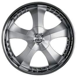 Antera 341 10x22/5x114.3 ET40 D75 Silver