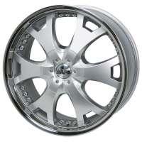 Antera 361 9,5x20 / 5x120 ET40 DIA 74,1 Silver
