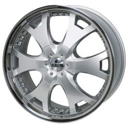 Antera 361 9.5x20/5x120 ET40 D72.6 Silver