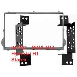 Переходная рамка HYUNDAI H1 Starex 07+, 2-DIN (RHY-N14)